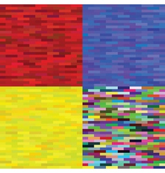 multicolored backgrounds vector image