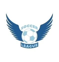 Soccer badge vector