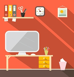 Studying Room - Office vector image