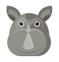 avatar of a rhino vector image