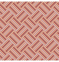 Design seamless colorful interlaced pattern vector image