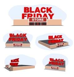 Abstract 2016 Black Friday store For vector