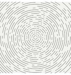 Abstract segmented geometric circle shape Radial vector image