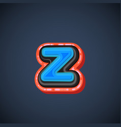 comic font character vector image