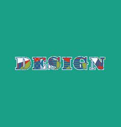 Design concept word art vector