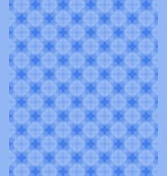 geometric shapes pattern blue background vector image