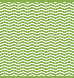 greenery and white zigzag seamless pattern vector image