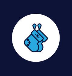 socks icon sign symbol vector image