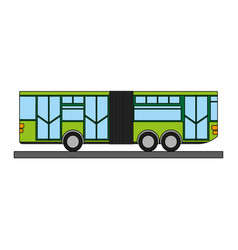 toy bus graphic vector image