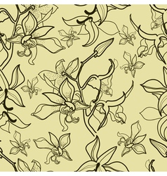 new flower seamless 1 vector image vector image
