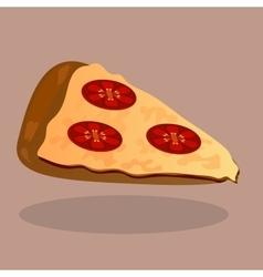 Very high quality original trendy pizza vector image vector image