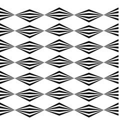 Abstract twisted geometric pattern - seamlessly vector
