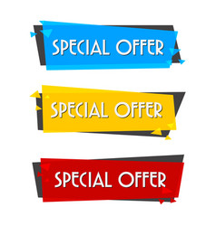 banner sale vector image