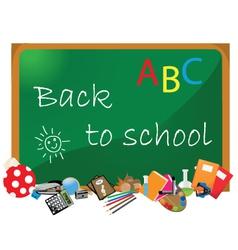 Blackboard Classroom vector image