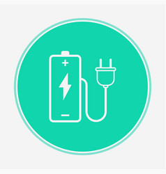charging battery icon sign symbol vector image