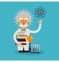Colorful Einstein design vector