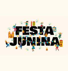 Festa junina templates for banner vector