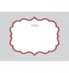 elegant template vector image vector image