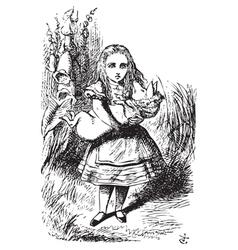 Alice Adventures vector image vector image