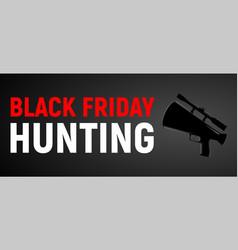 banner for black friday sale vector image