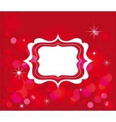 celebration frame vector image vector image
