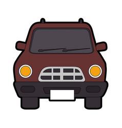 Classic car vehicle vector