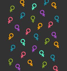colors women vector image
