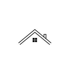 real estate logo house logo icon design template vector image