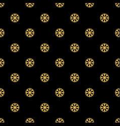 seamless snowflakes pattern snowfall vector image