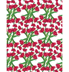 tulips-background-2 vector image