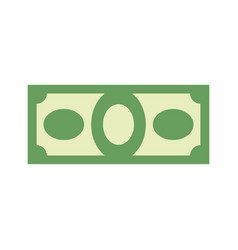 money sign dollar symbol cash emblem financial vector image vector image