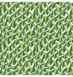 Ornate urban jungle print template vector