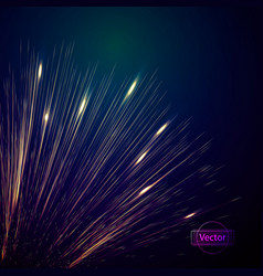a burst of abstract lines vector image