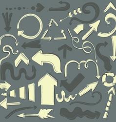 Arrows9 vector image