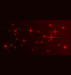 burgundy background in red stars vector image