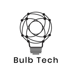 Light bulb icon can be used for applications vector