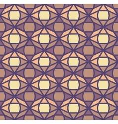Seamless geometric oriental pattern vector image