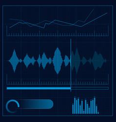 Sound reproduction design vector