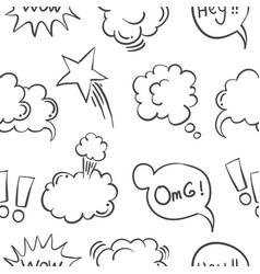 Text balloon collection vector