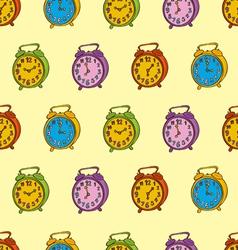 Clocks Seamless Pattern vector image vector image