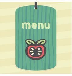outline tomato icon modern infographic logo vector image