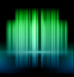 abstract background with green and blue lights vector image