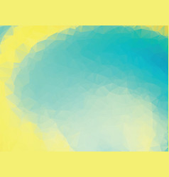 abstract yellow green background vector image