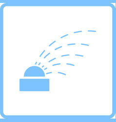 Automatic watering icon vector