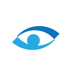 Branding identity corporate eye care logo design vector