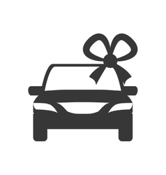 Car with bowtie icon Indian Culture design vector image