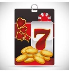 Casino icons design vector