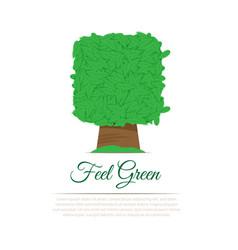 gardening service logo vector image