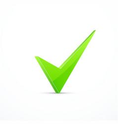 green tick vector image