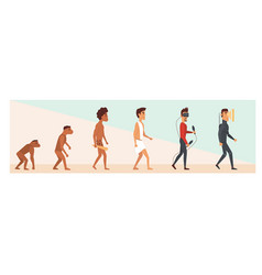 Human evolution and future vector